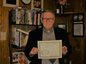 John McPherson – Third Place Sybil Nash Abrams Contest